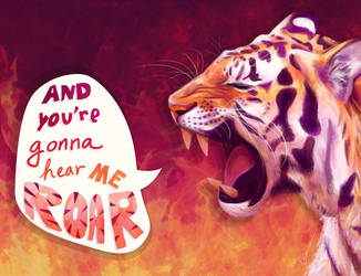 Eye of the Tiger by zara-leventhal