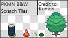 Pokemon B W Misc. Tiles by xXKumori