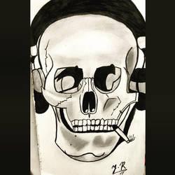 Skull ~  by jack9814