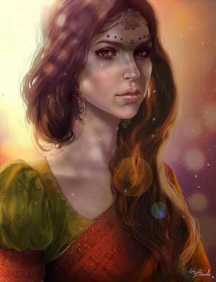 Indian girl by Web-brunetka