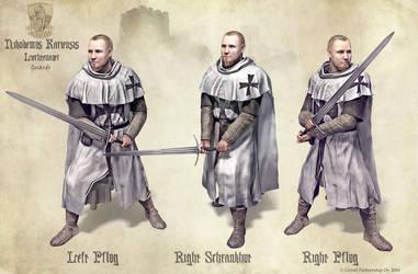 Liechtenauer Guards by Undermound