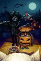 Halloween Lineage 2 by llaiii