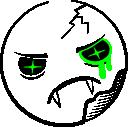 Zombie Smiley (emotee) by mondspeer