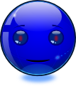 iSmiley - Robot Smiley: Blue (emotee) by mondspeer