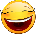 Famous Smileys: Big Grin (emotee) by mondspeer
