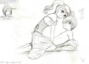 Ciel and Lizzy by Karolina5n