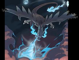 Mega Charizard X - Power of a dragon! by nganlamsong