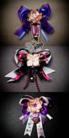 Japan Relief Mini Har Clips by xxpo0k13x