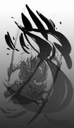 Raiden Ninja by chriscopeland