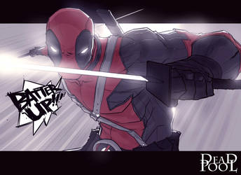 ''Comic Relief'' DEADPOOL! by chriscopeland