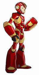 Ironmegaman by chriscopeland