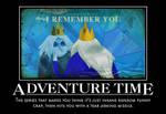 Adventure Time Motivational by jswv