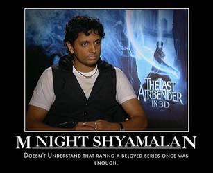 M. Night Shyamalan Motivational by jswv