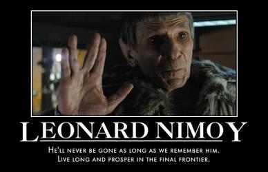 RIP Leonard Nimoy by jswv