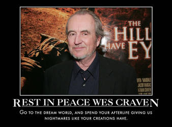 Wes Craven Memorial Motivational by jswv