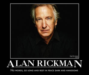 Rest in Peace for Alan Rickman by jswv