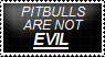 Pitbulls Are NOT Evil! -Stamp by xx-BREAKTHEBEAT-xx