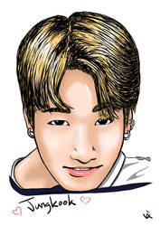 BTS Bantan Boys Jungkook by Vixtronic
