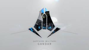 Sapphire Military - Gandar by Jaaziar