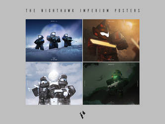 The Nighthawk Imperium Posters by Jaaziar