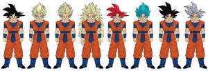 CC Goku by JacenWade