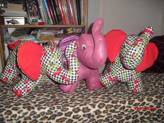 New Elephants by carouselfan