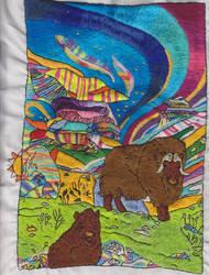 Musk Oxen by carouselfan