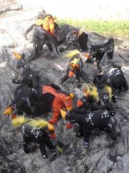 Halloween Creatures by carouselfan