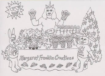 Margaret Franklin Coluring Page by carouselfan