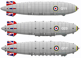 Fictional British Airships by linseed