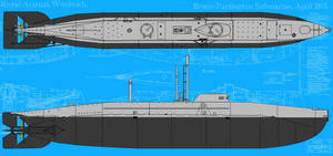 Bruce-Partington Submarine by linseed