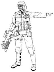 Future Infantryman by linseed