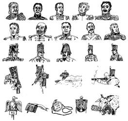 Peninsular War Sketches by linseed