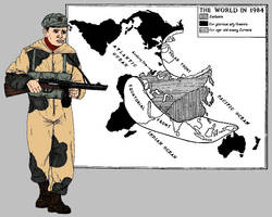 Nineteen Eighty-Four: Eastasian Military Cadre by linseed