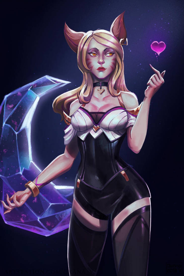 KDA Ahri by Upnova