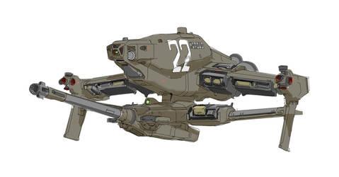 Morsus Gunship by CaptFlushGarden