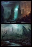 Sketch Concepts by AlynSpiller