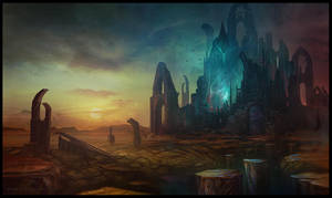 Arcane Stones by AlynSpiller
