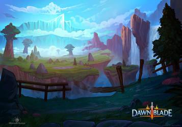 Dawnblade Concept Art by AlynSpiller