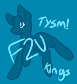 Tysm! Base (F2U) by r-atio