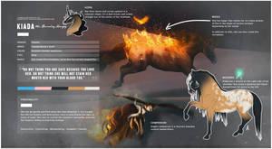 KIADA, the Burning Harpy by lovelyskylark