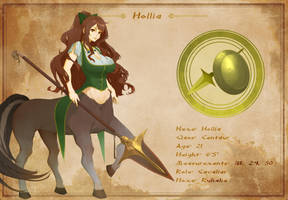 Character Sheet - Hollia by AG-Publishing