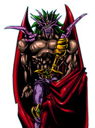 Dark Master Zorc  [Render] by AlanMac95