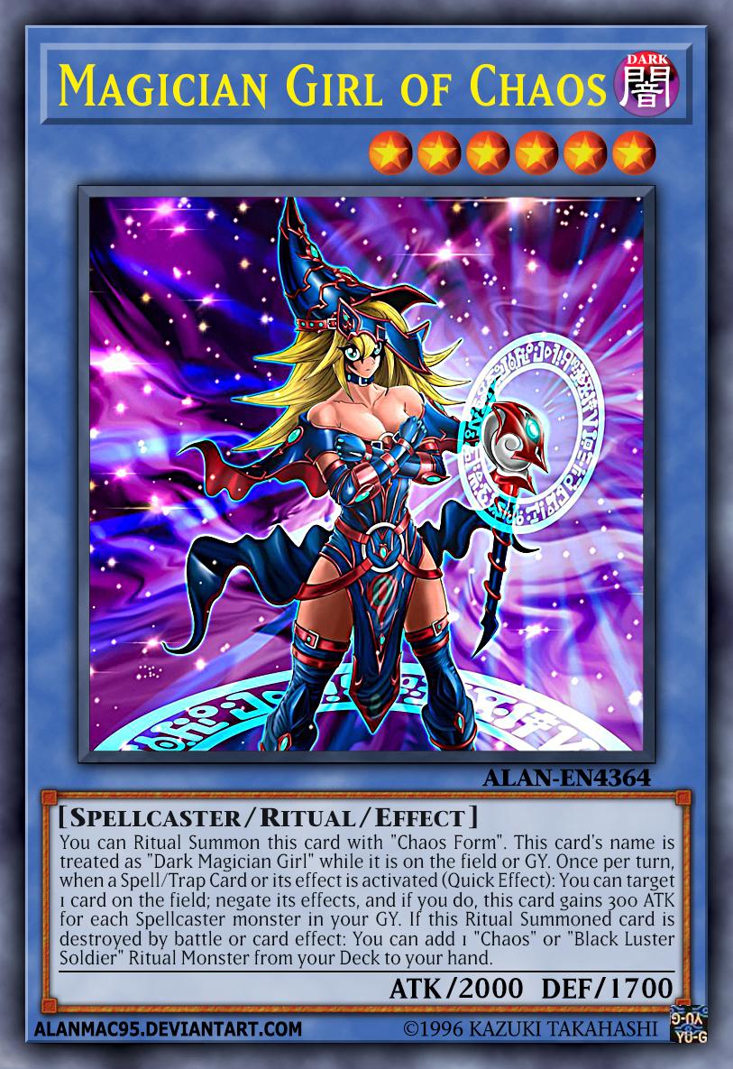 Dark Magician Girl - Yu-Gi-Oh!