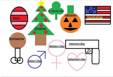 Windows 10 Paint Holidays by Dinner101