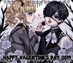 [Kuroshitsuji] VALENTINE'S DAY - Cielizzy by Biby-san