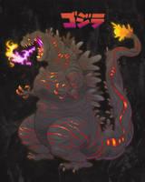 Shin Godzilla by killigann