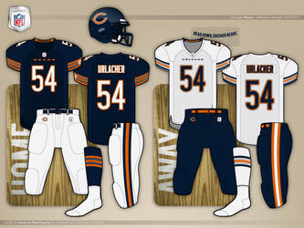 Chicago Bears Concept by daveship on DeviantArt ba8295cdf