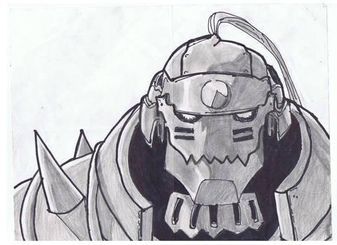 Alphonse Sketch by pinkharte