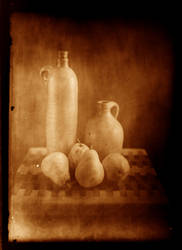 Still Life With Pears by portal23
